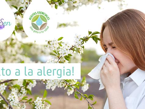 Ponle un alto a las alergias primaverales con aceites esenciales