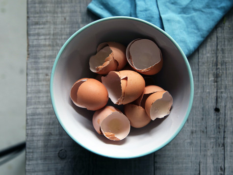 3 interesantes usos de la cáscara de huevo