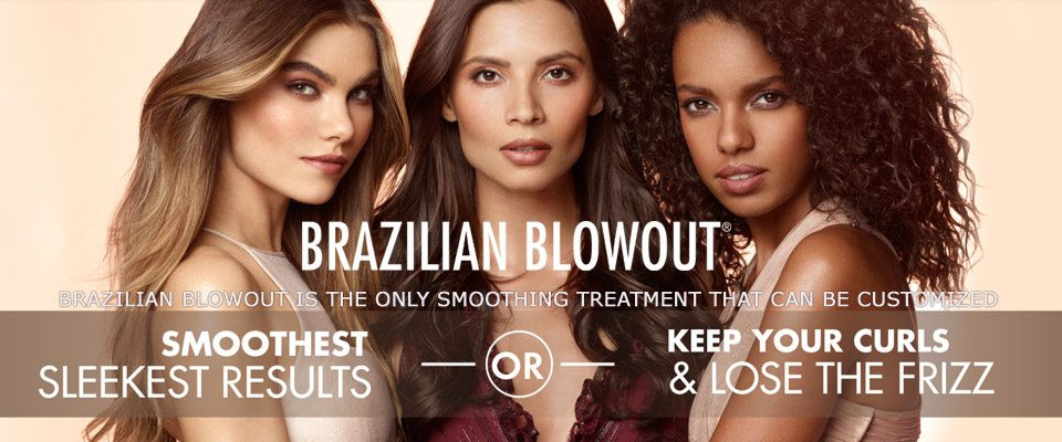 Brazilian Blowout is perfect for curly and straight hair