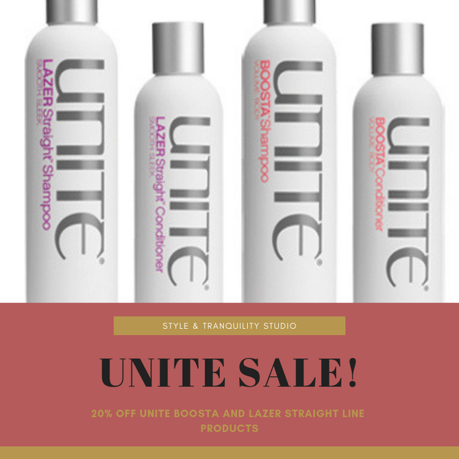 Use Unite and Get The Hair You Want: Voluminous or Super Sleek