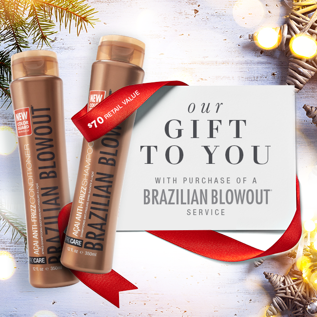 Brazilian Blowout Maintanence products