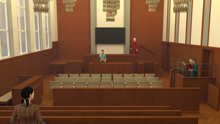 """""""north kowloon magistracy courtroom 1"""""""