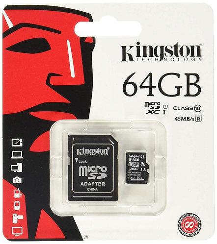 Kingston 64GB Memory Card