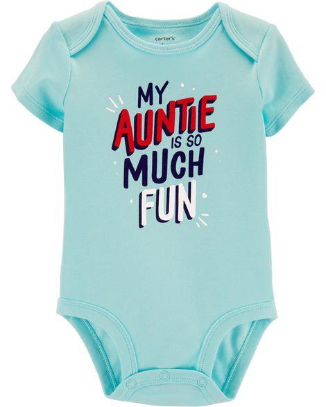 Carter's Fun Auntie Collectible Bodysuit