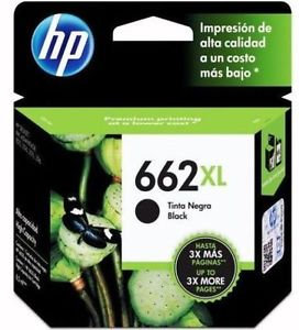 HP 662 XL Black Ink
