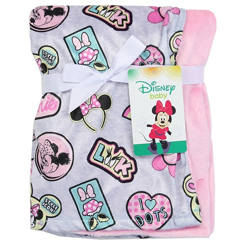 MINNIE MOUSE Super Soft Baby Blanket