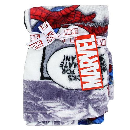 SPIDER-MAN Soft Flannel Fleece Baby Blanket