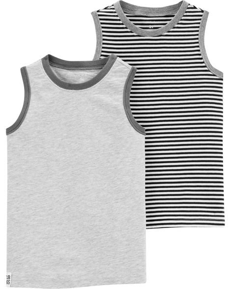 Carter's 2-Pack Jersey Tanks