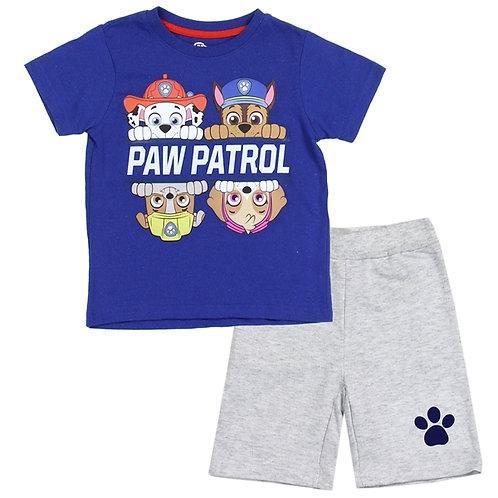 PAW PATROL Boys Toddler 2PC Short Set
