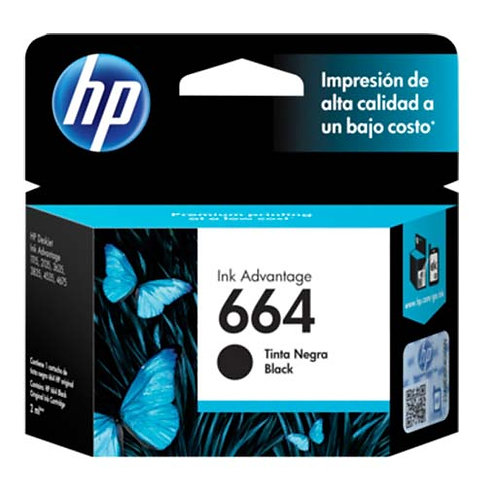 HP 664 Black Ink