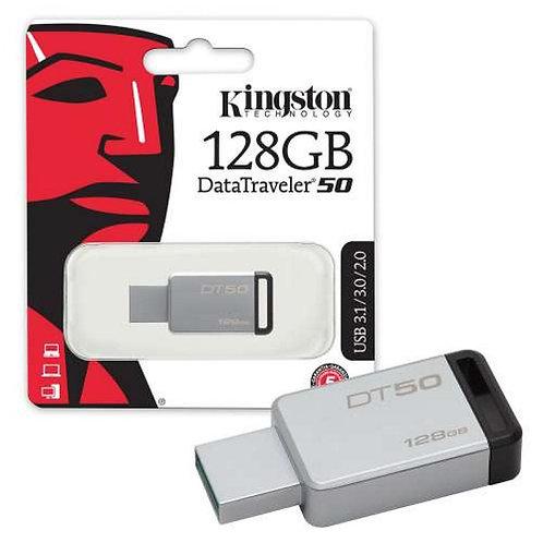 Kingston 128GB DT50 Flash Drive