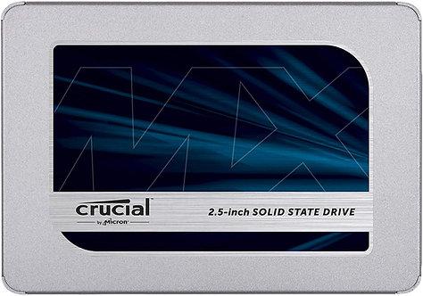 "Crucial MX500 500GB SATA 2.5"" Internal SSD"