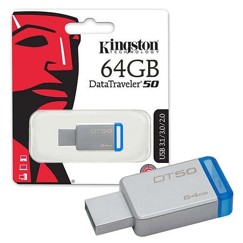 Kingston 64GB DT50 Flash Drive