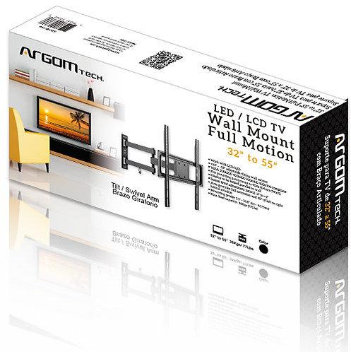 Argom TV Wall Mount 32''-55'' Full Motion Swivel