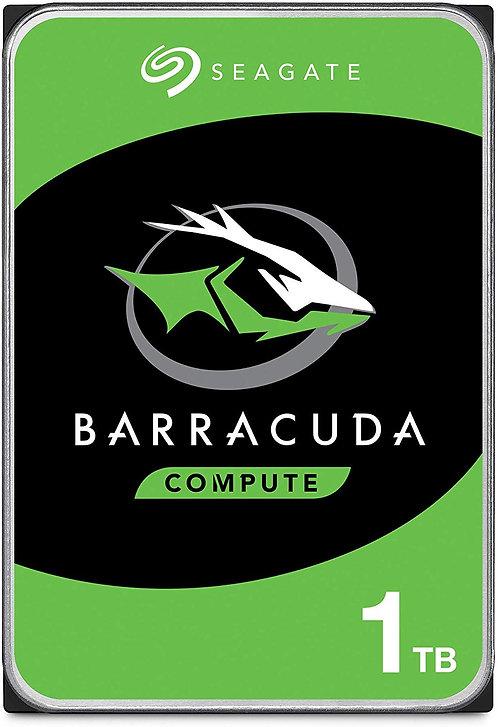 "Seagate BarraCuda 1TB 3.5"" Internal Hard Drive HDD"