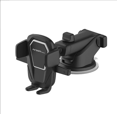 Cell Phone Car Mount With Touch Telescopic Arm