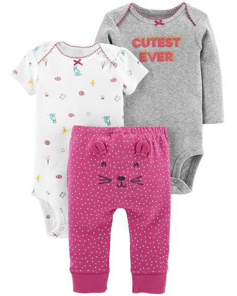Carter's 3-Piece Little Character Set