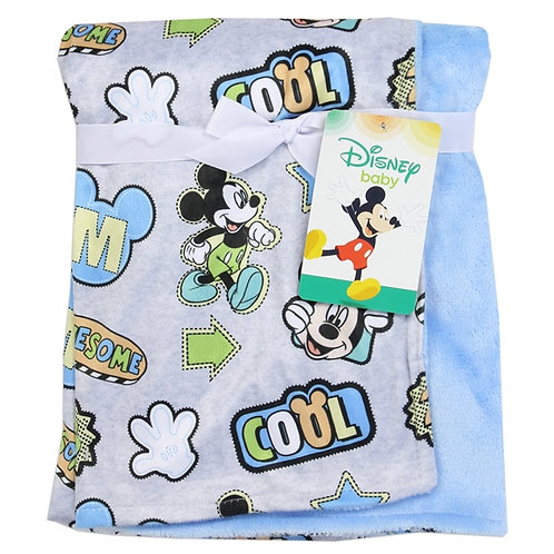 MICKEY MOUSE Super Soft Baby Blanket