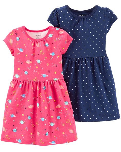 Carter's 2-Pack Jersey Dress Set