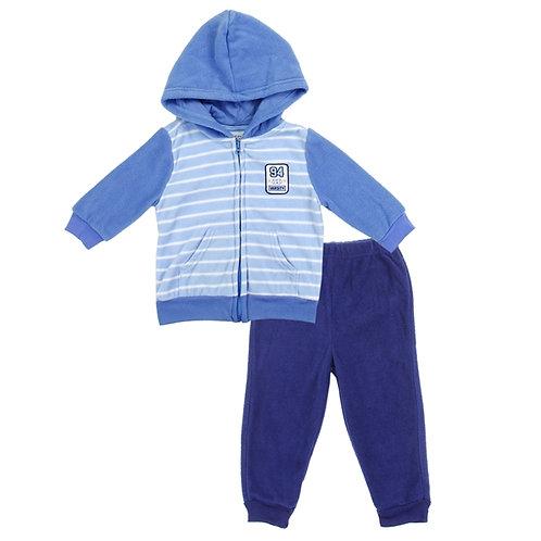 WEEPLAY Boys Infant Microfleece Jacket Set