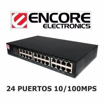 Encore Electronics 24 Port 10/100Mbps Ethernet Switch