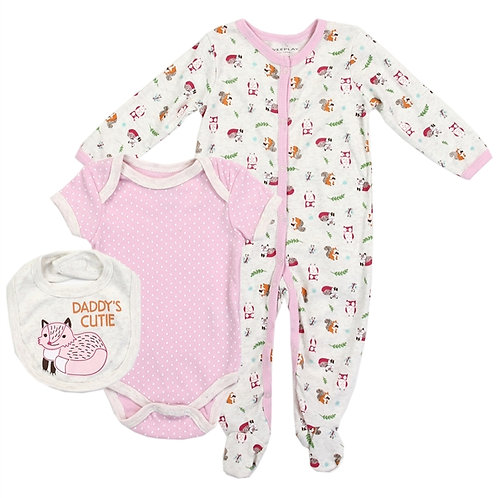 WEEPLAY 3PC Coverall Set
