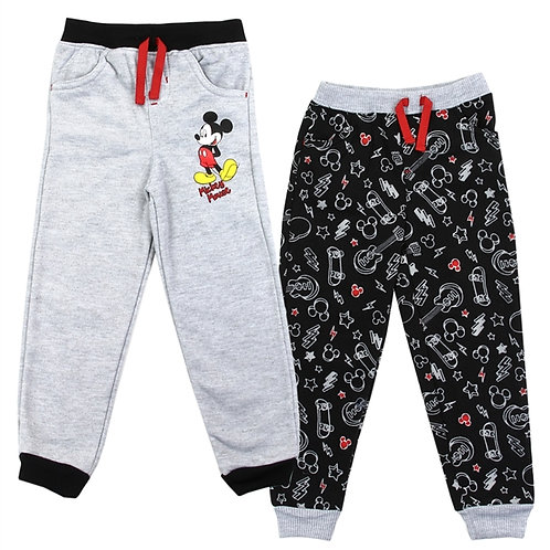 MICKEY MOUSE Boys Infant 2-Pack Fleece Joggers