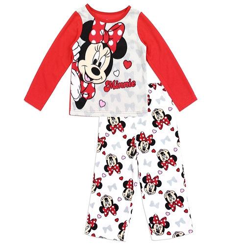 MINNIE MOUSE Girls Toddler 2PC Pajama Set