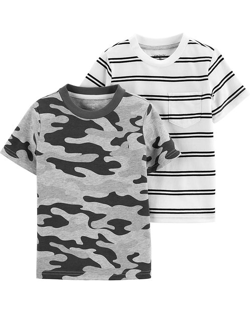 Carter's 2-Pack Jersey Tees
