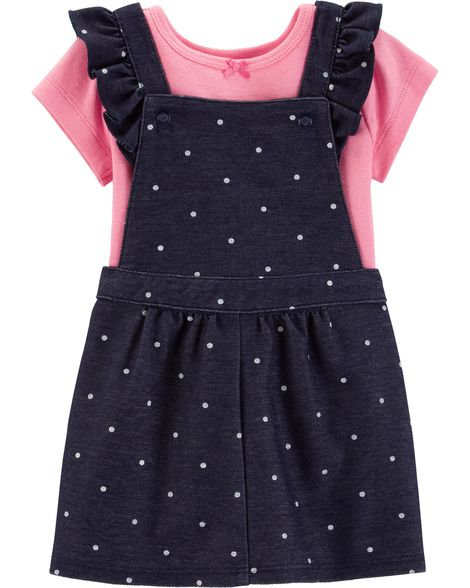 Carter's 2-Piece Bodysuit & Skirtall Set