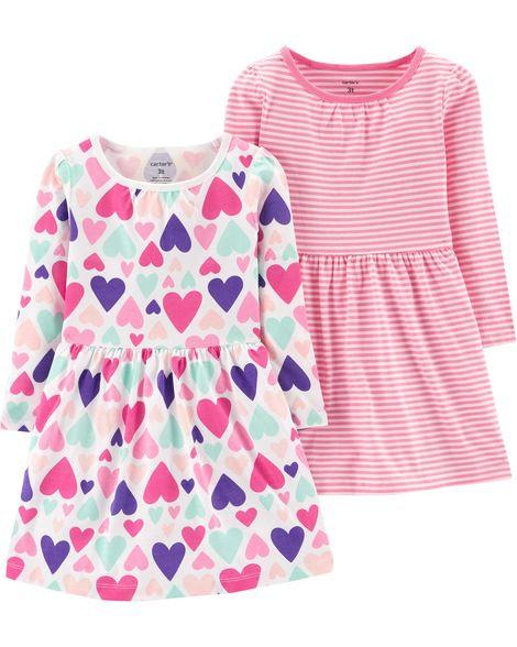 Carter's 2-Pack Jersey Dress