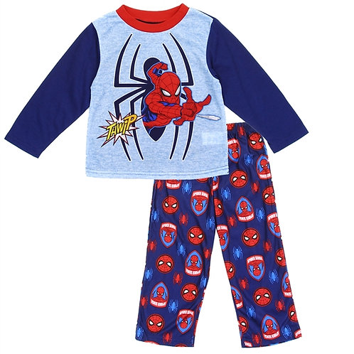 SPIDER-MAN Boys Toddler 2PC Pajama Set