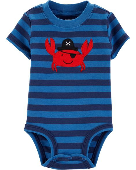 Carter's Pirate Crab Collectible Bodysuit
