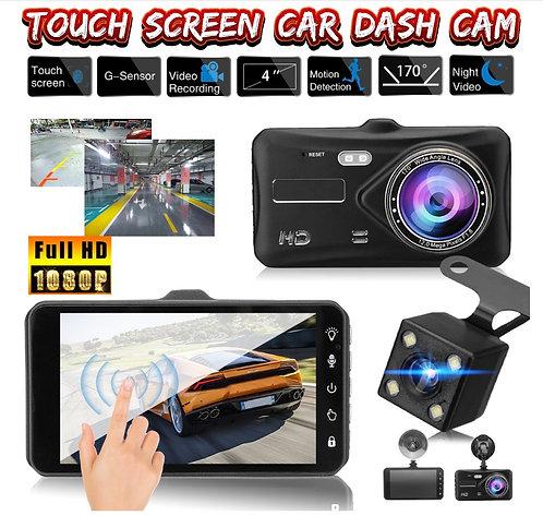 4 Inch Dual Dash Camera W/Touch