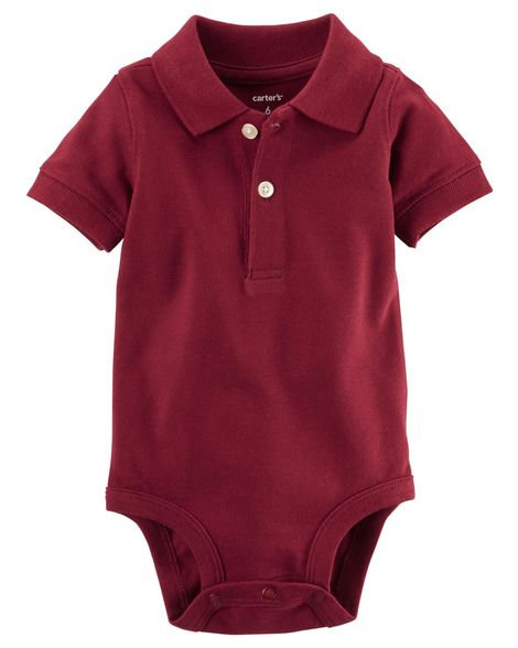 Carter's Piqué Polo Bodysuit