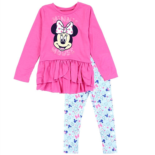 MINNIE MOUSE Girls Infant 2-Piece Legging Set
