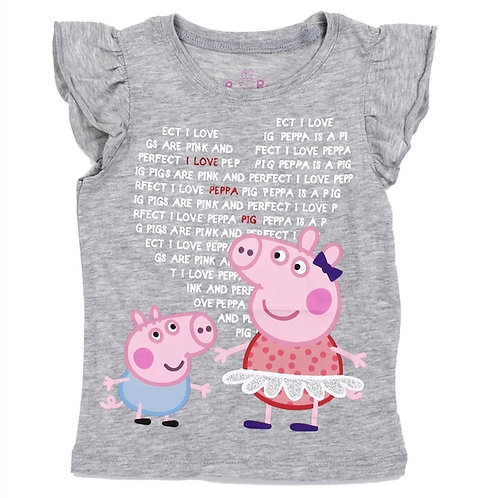 PEPPA PIG Girls Toddler T-Shirt