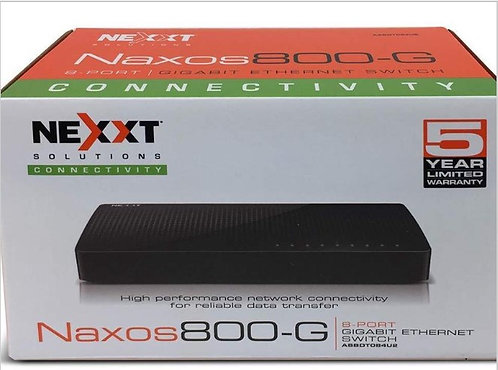 Nexxt Naxos 800-G 8 Port Gigabit Network Switch