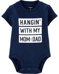 Carter's Mom & Dad Collectible Bodysuit