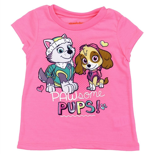 PAW PATROL Girls Toddler T-Shirt