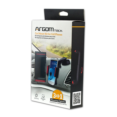 Argom 3 in 1 Car Mount