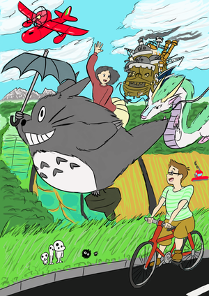 Studio Ghibli Birthday Card