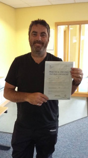 Well done David Hicks for passing your Mod 2 on Friday afternoon