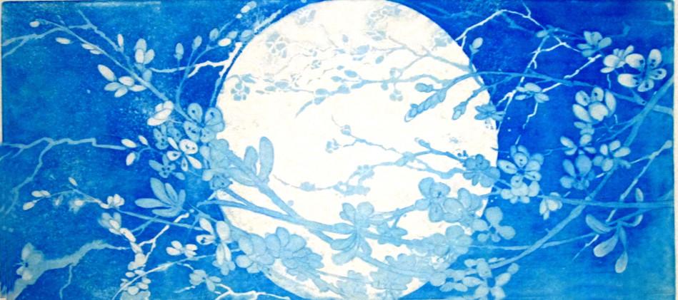 Spring Moon Rising'