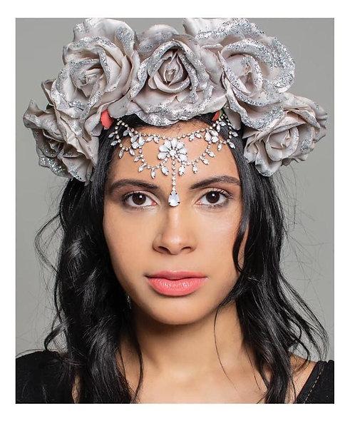 Midnight Rose Crown