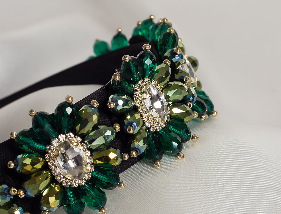 Sophia in Emerald Green