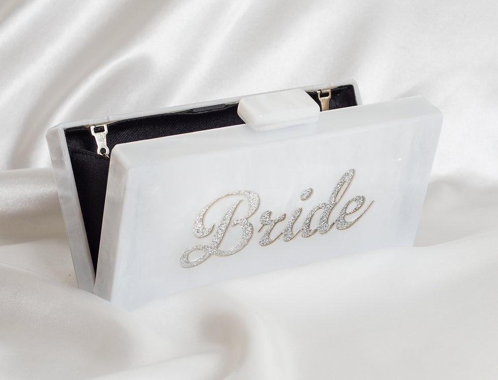 Acrylic Bride Clutch