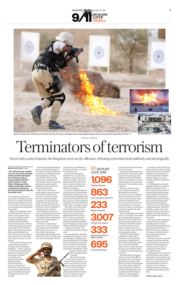Arab News 9/11/21 (page 7)