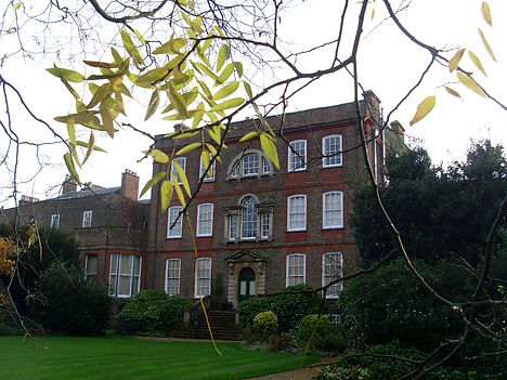 40 Peckover House from the Croquet Lawn.