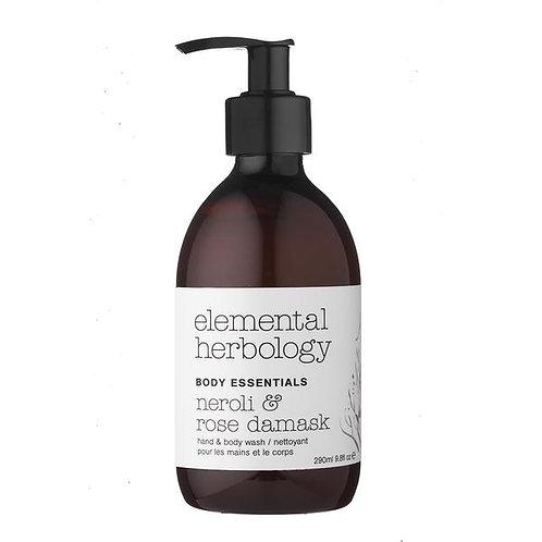 ELEMENTAL HERBOLOGY - NEROLI & ROSE HAND & BODY WASH